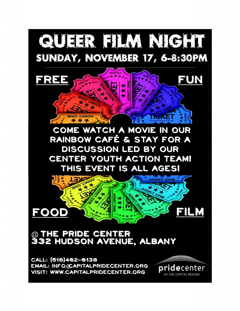 Fall Queer Film Night 2013