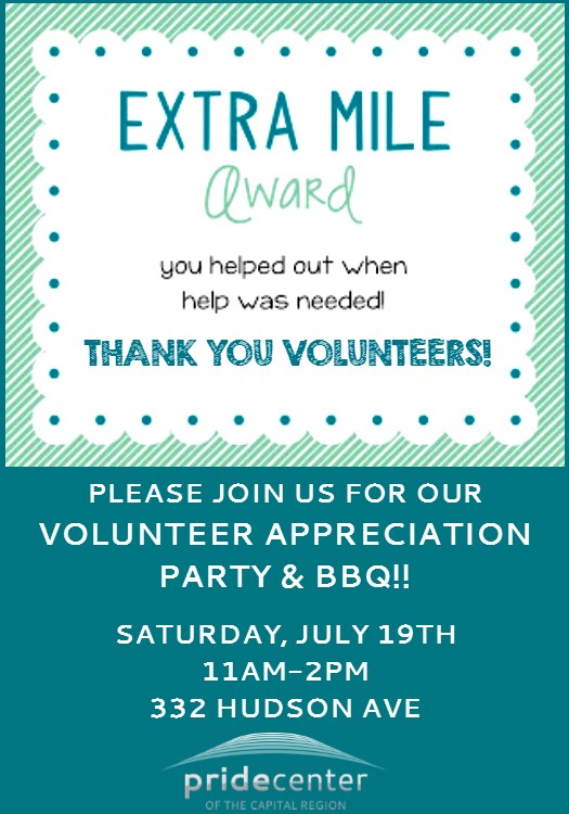 Volunteer Appreciation Party!